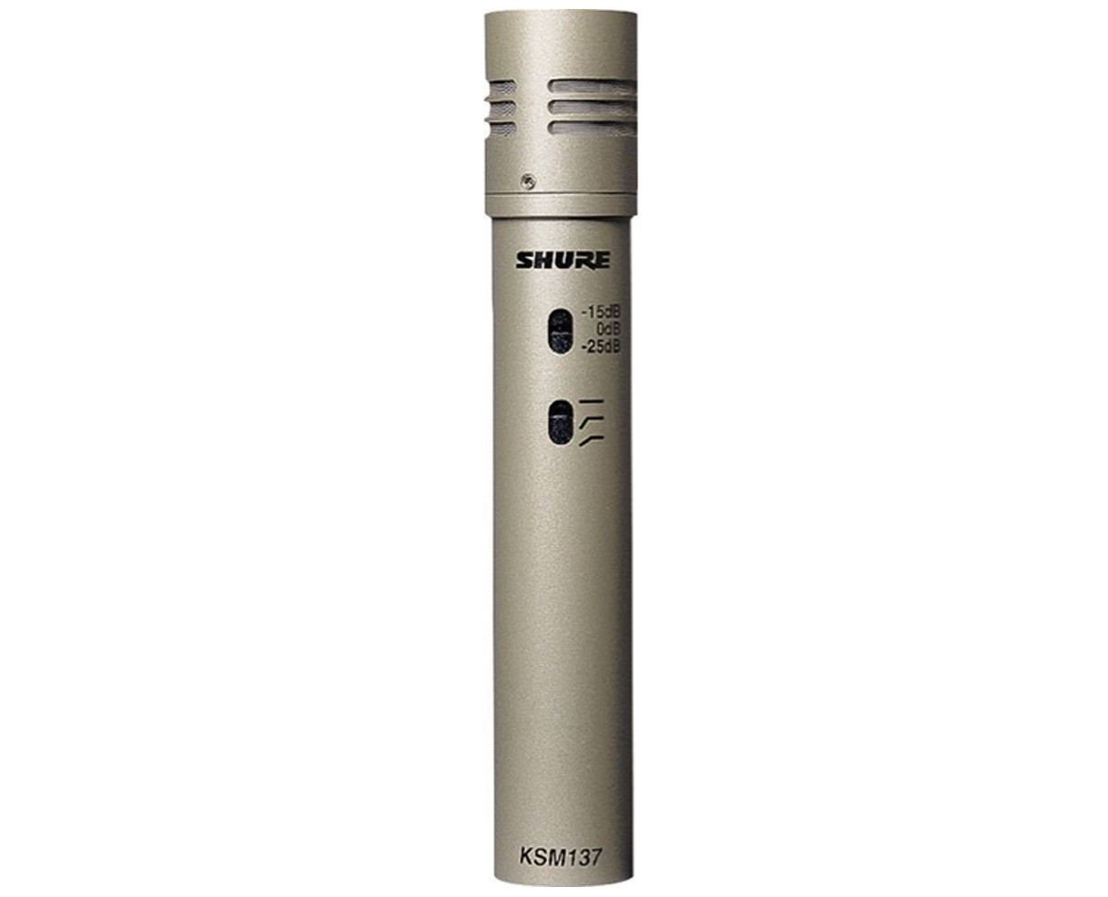 Micro có dây Shure dành cho nhạc cụ KSM137/SL