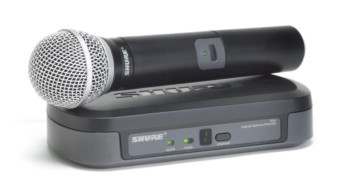 Bộ micro không dây Shure PG24E/PG58