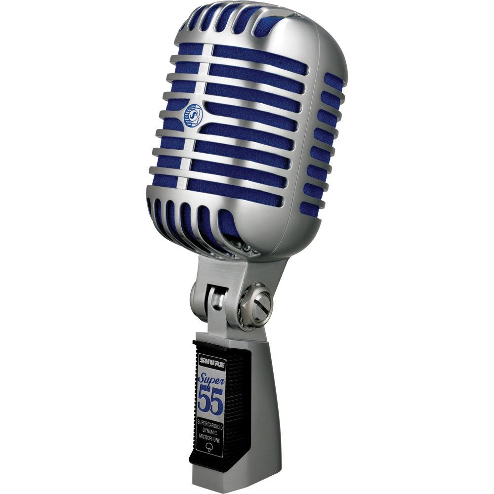 Micro Có dây Shure dành cho ca hát Super 55