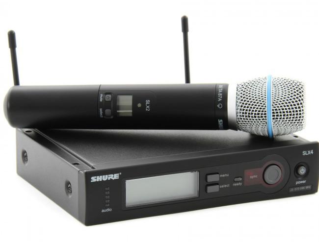 Shure SLX24A/Beta87 chính hãng