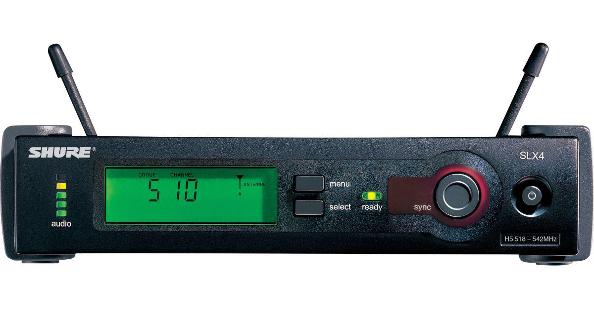 Bộ Microphone không dây shure SLX14/30 chính hãng