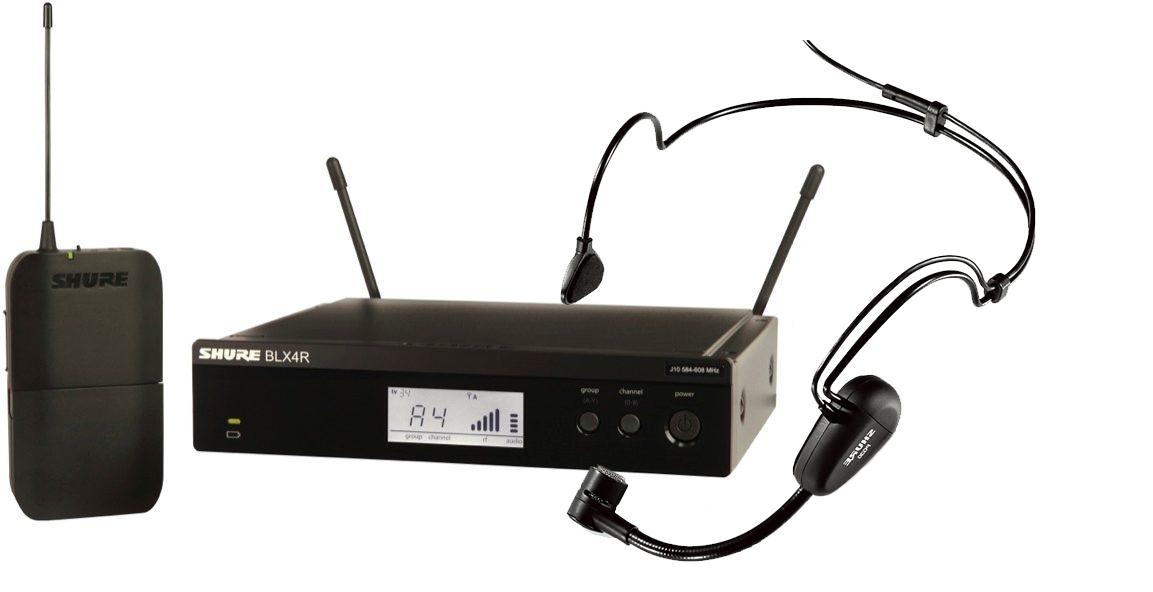 Bộ Micro Shure BLX14RA/PG30