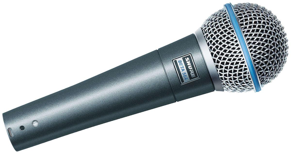 Micro dành cho ca hát Shure Beta 58A