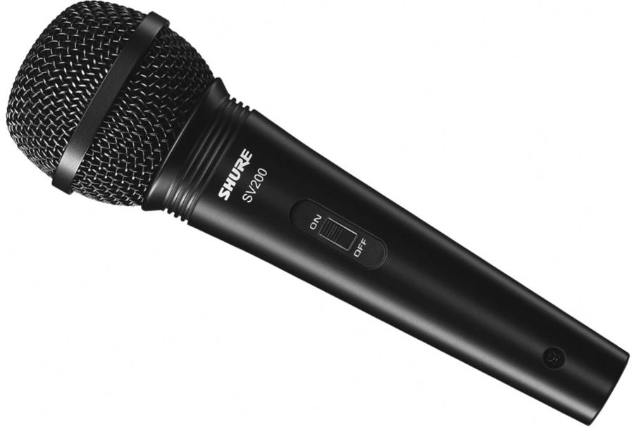 Micro cầm tay điện động Shure SV200-Q