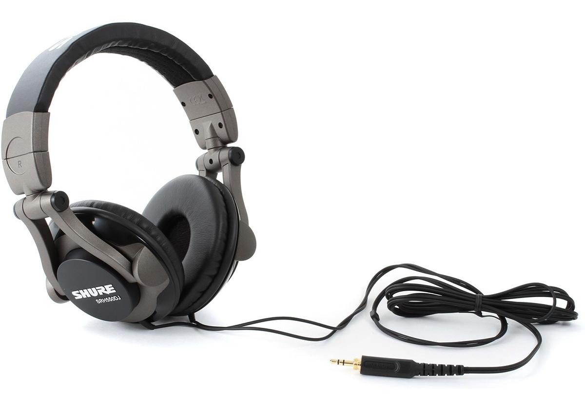 Tai nghe chụp đầu dành cho DJ Shure SRH550DJ