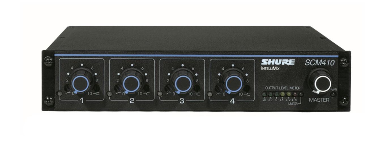 Bàn trộn microphone 4 kênh Shure SCM410 gia tốt nhất