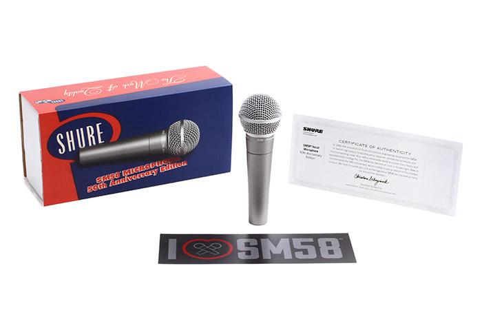 Micro có dây Shure SM58-50A giá tốt nhất