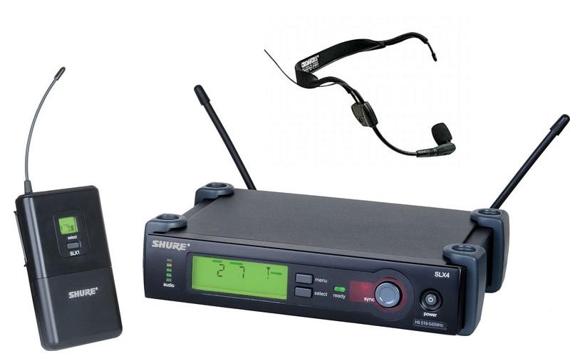 Bộ Microphone không dây shure SLX14/30 giá tốt