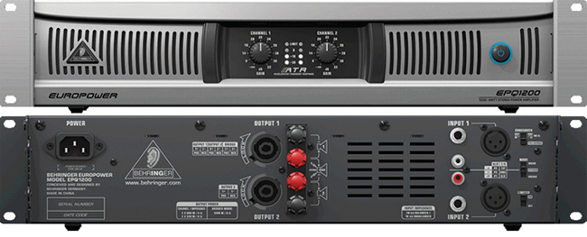 Amply công suất Behringer EUROPOWER EPQ1200
