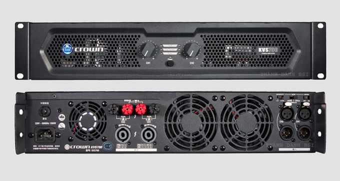 Amply công suất CROWN KVS 700 giá rẻ