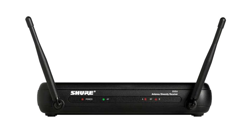 Bộ thu và phát kèm micro cài áo Shure SVX14/PG185