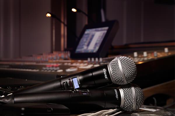 thiết bị âm thanh sân khấu Sennheiser