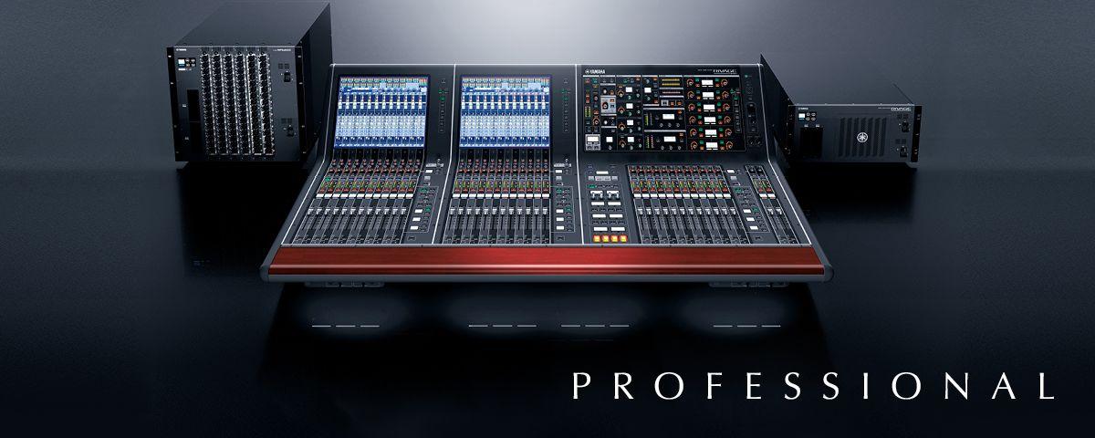 thiết bị âm thanh sân khấu Yamaha