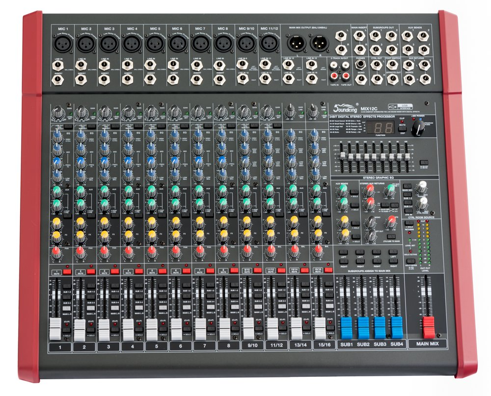 Mixer Soundking MIX12C
