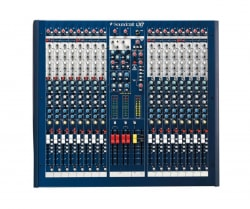 Mixer soundcraft LX7II/16